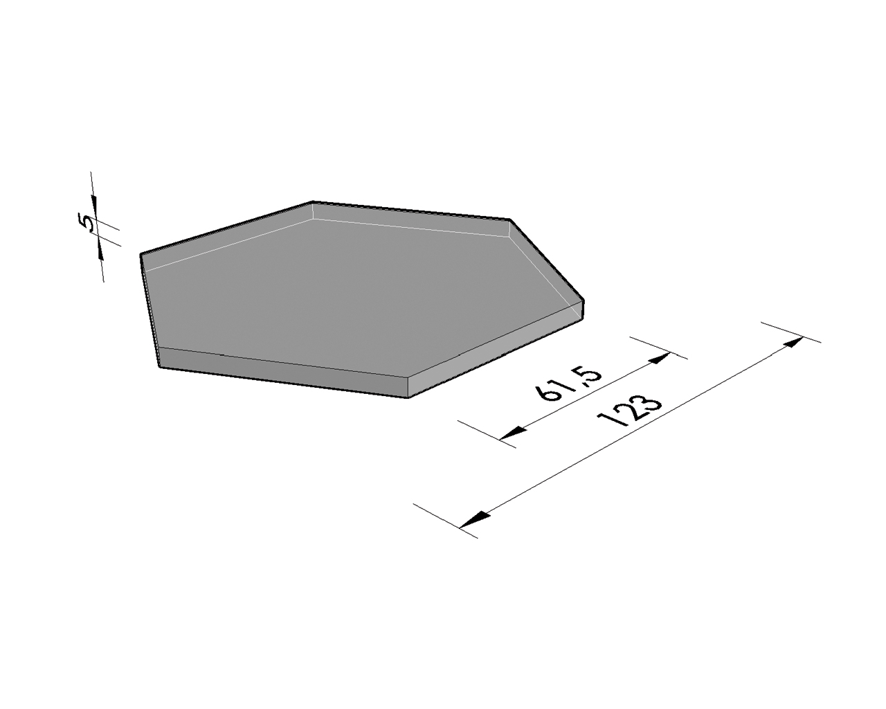 plaque de couverture hexagonale b hexagonale b colonnes comm moratives am nagement de. Black Bedroom Furniture Sets. Home Design Ideas