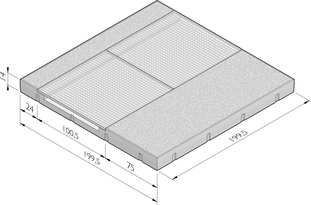 dalle de plancher grille gratte pieds dalle de plancher esth tique avec structure dalles. Black Bedroom Furniture Sets. Home Design Ideas