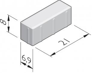 Naturale format long étroit 21x6,9