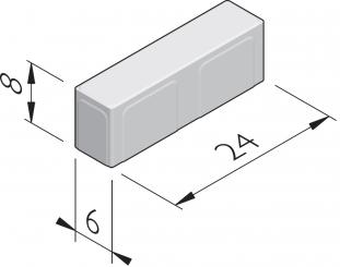 Naturale 24x6 format linge