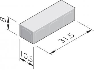 Naturale 31,5x10,5