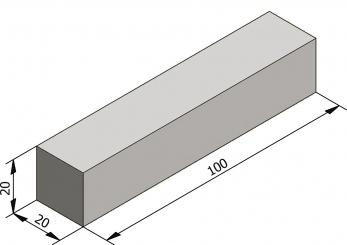 l ments droits 20x20 type iid1 bandes de contrebutage l ments lin aires s lecteur de. Black Bedroom Furniture Sets. Home Design Ideas