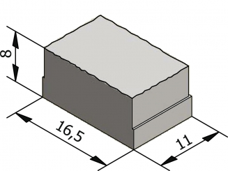 Rustico 16,5x11 Granuton