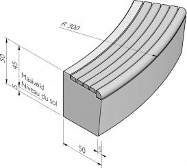 Seat courbe
