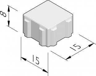 Pavés Ecoroc 15x15