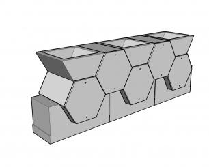 Cellules hexagonales 54